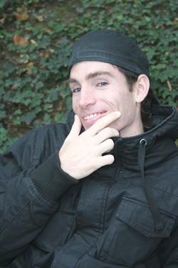 grinning white guy